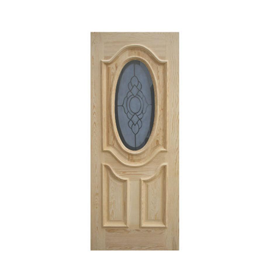 Puerta ovalo cubylam chalet for Vidrios para puertas principales